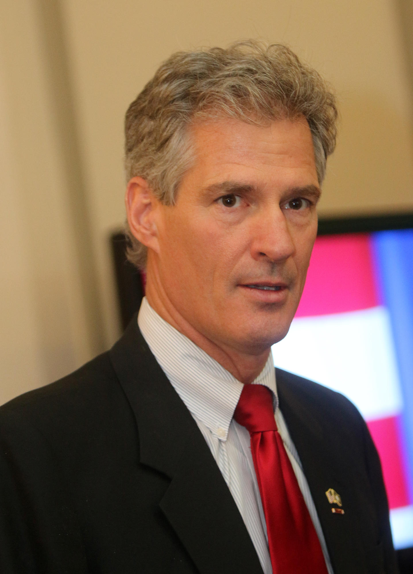 "To Trump Tower, Scott Brown Says He's ""Best Person"" To Lead VA 