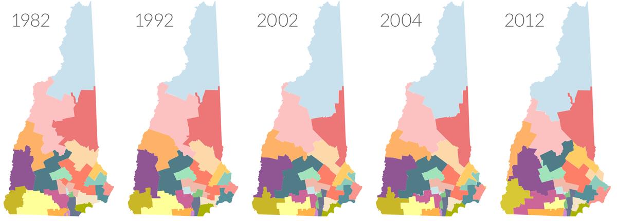 Senate Map on