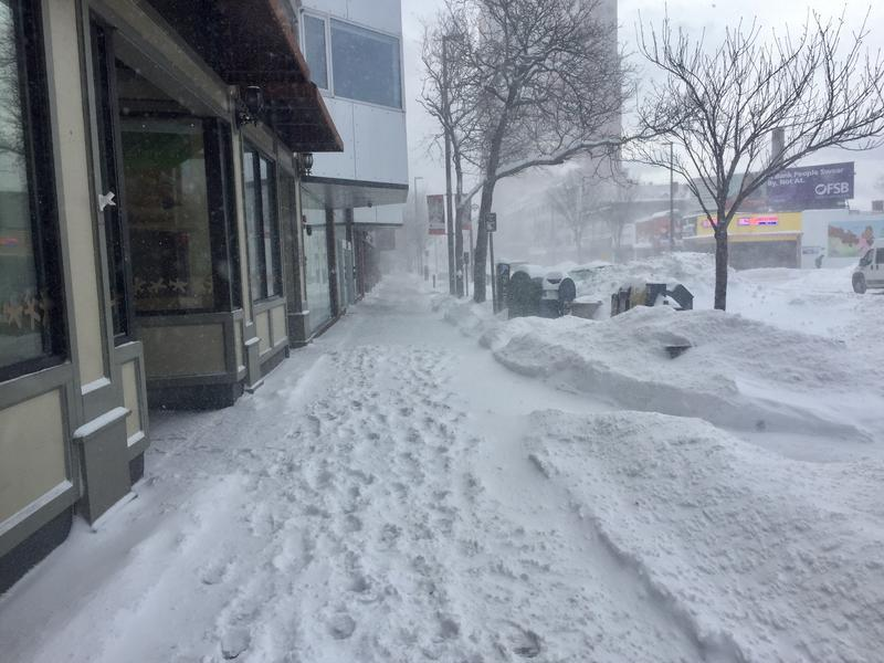 Heavy wet snow storm hits Northern New England