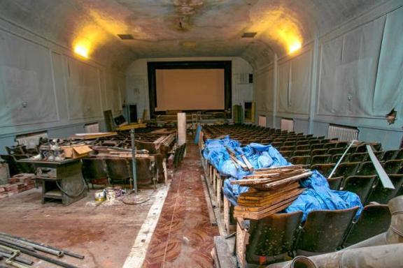 The Interior Of Theatre Now