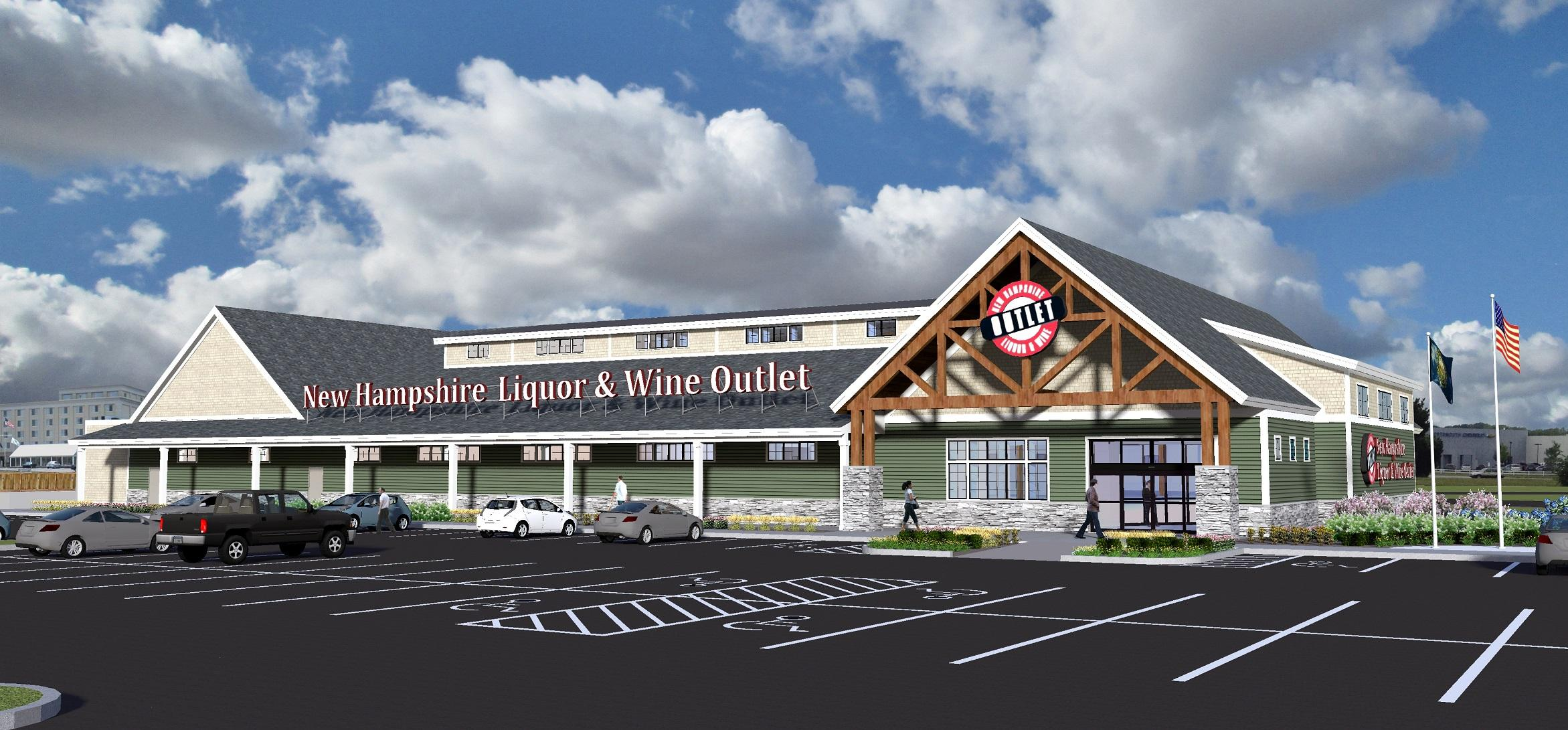 State liquor store in portsmouth will double in size new for New construction in nh