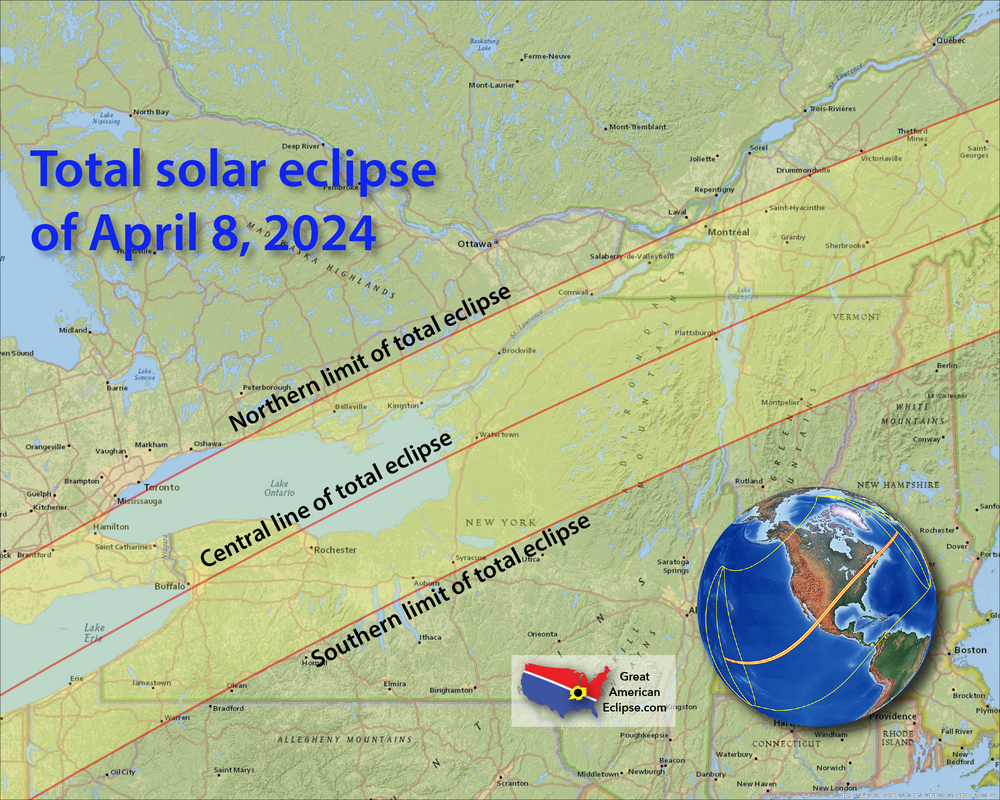 Save The Date N H In Path Of Totality For 2024 Solar Eclipse New