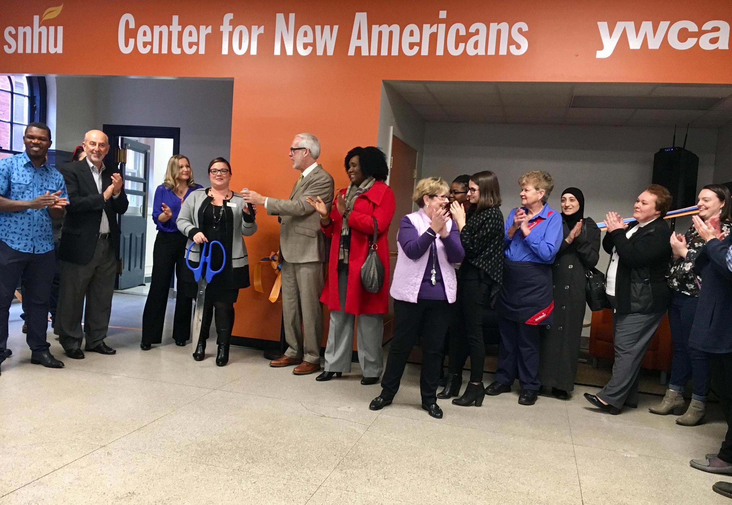 SNHU YWCA Open Center For New Americans In Manchester