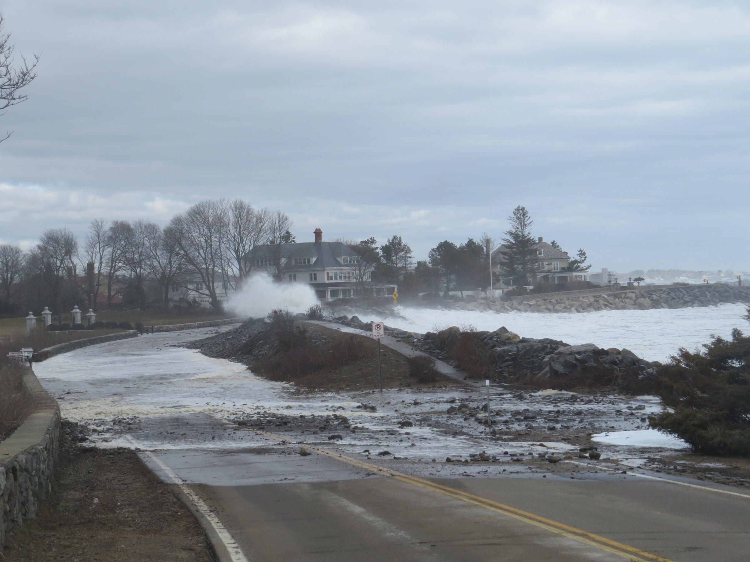 Governor Inspects Historic Flooding on N.H. Coast | New ...