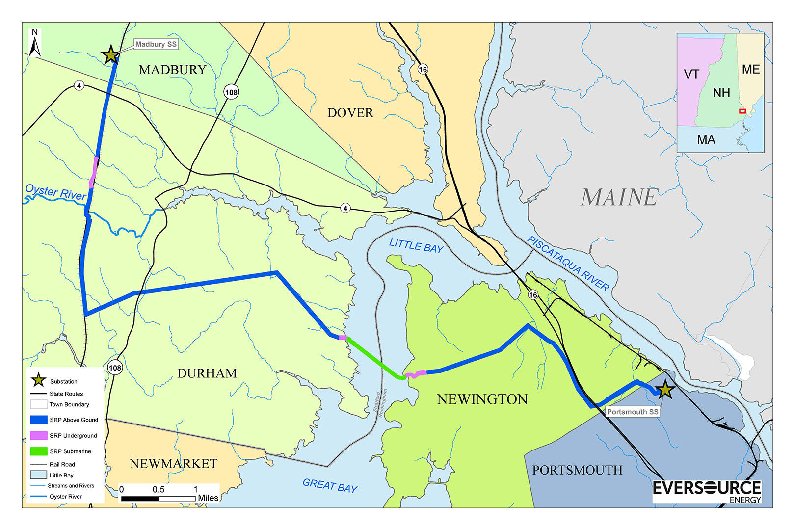 DES Proposes Conditions For Burying Eversources Seacoast Power - Where is new hampshire