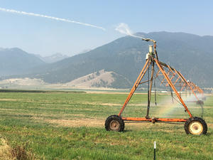 Eclipse's Heavy Cell Phone Loads Could Parch East Oregon Crops