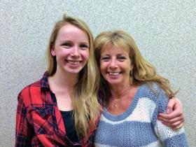 Millennial Zara Palmer (left) was born in 1992. Her mom, Julie, was born in 1959.