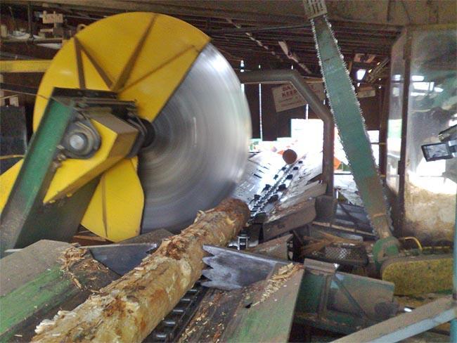 A sawmill in southern Oregon.