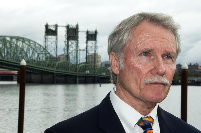 "In March, Gov. John Kitzhaber said, ""we have a bridge."""