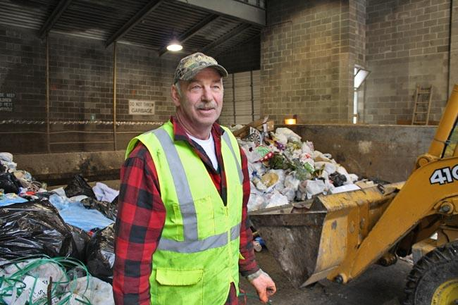 Vince Peterson is the operations manager of Shoshone County waste disposal.