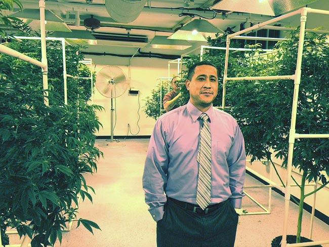 Ricardo Claiborne is a co-owner of Green Solution near Tacoma. He believes there's room for a regulated medical and recreational marijuana market in Washington.