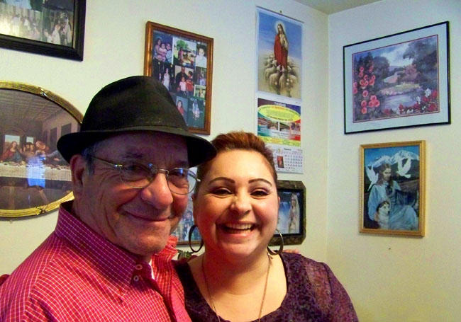 Luis Vargas, of Mabton, Wash., is a great storyteller. He often shares his stories of crossing into the United States from Mexico to family and friends.