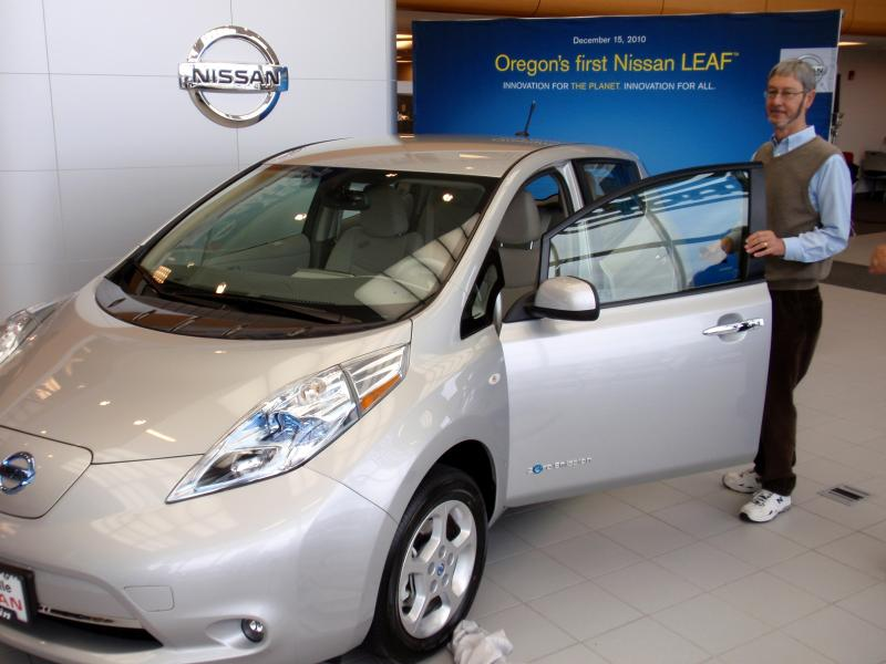 Since the Northwest's first Nissan Leaf was sold in late 2010, sales of the fully electric care have surged, then waned, and are now surging again.