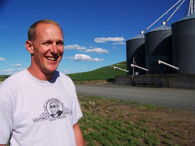 Uniontown, Wash., area farmer Frank Wolf.