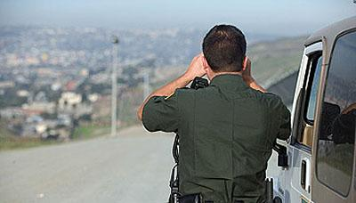 Under current law Border Patrol agents can set up vehicle checkpoints within 100 miles of the Canadian border.
