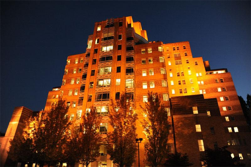 File photo of Seattle's Pacific Tower, also klnown as PacMed, located on Beacon Hill