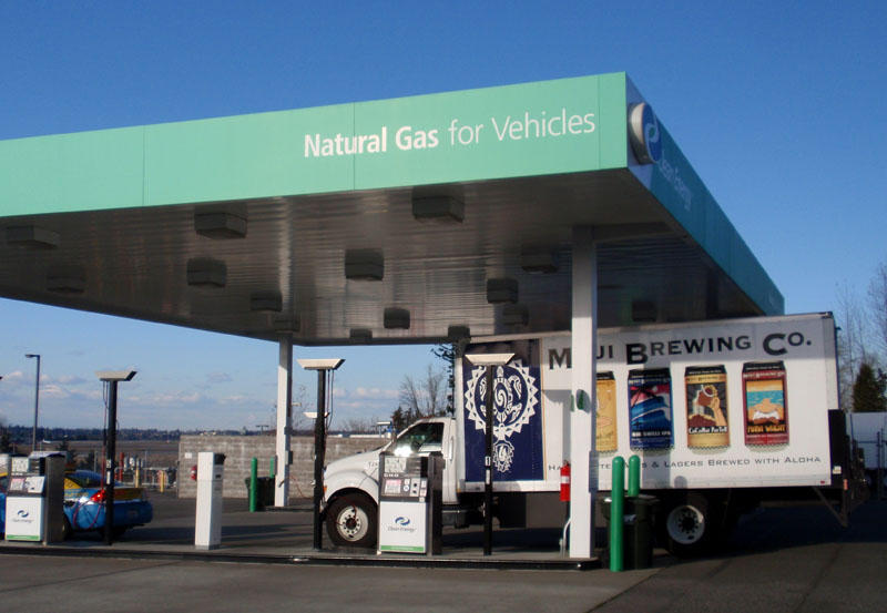 Natural Gas Home Filling Station