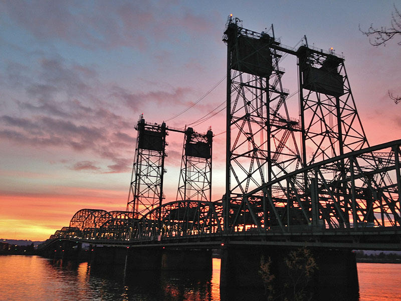 The northbound span of the side-by-side Interstate 5 bridges across the Columbia River turned 100 years old this year.