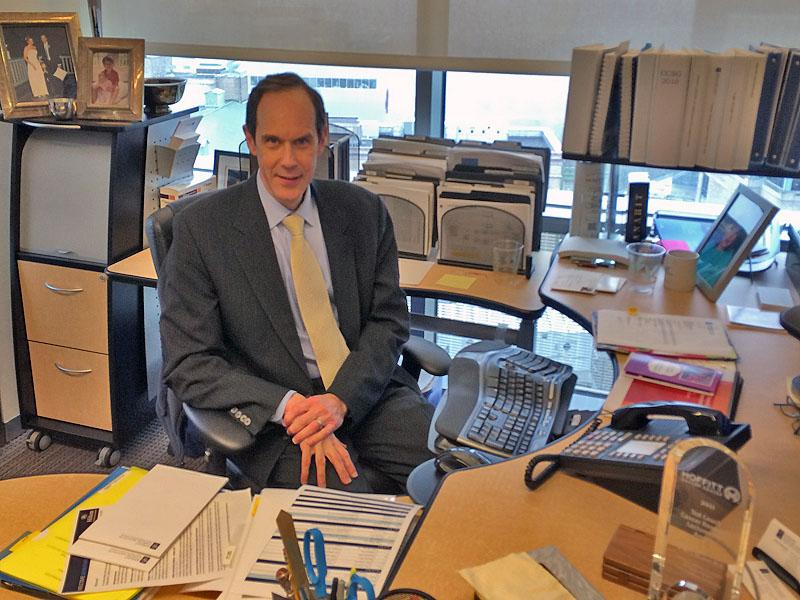 Dr. Brian Druker heads the OHSU Knight Cancer Institute.