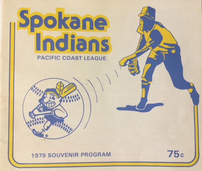 Spokane Indians program, 1979.