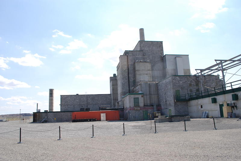 File photo of the exterior of the Hanford B Reactor.