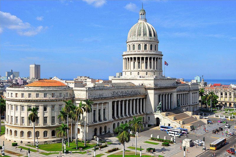 File photo of The Cuban Capitol in Havana.