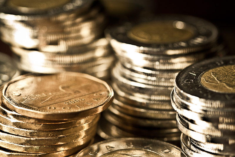 The greenback has recently strengthened against the loonie.