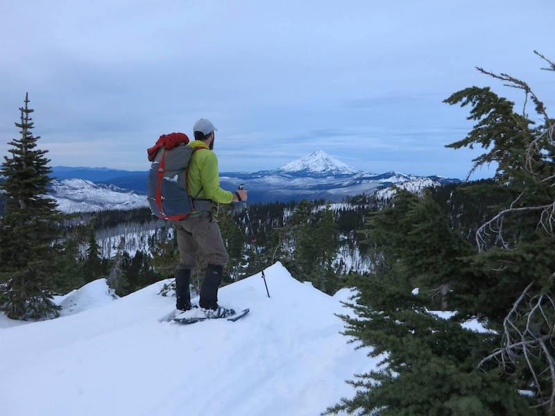 Looking across to Mount Jefferson in Oregon.