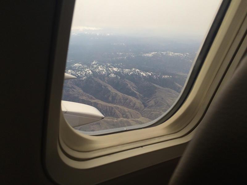 Idaho from above.