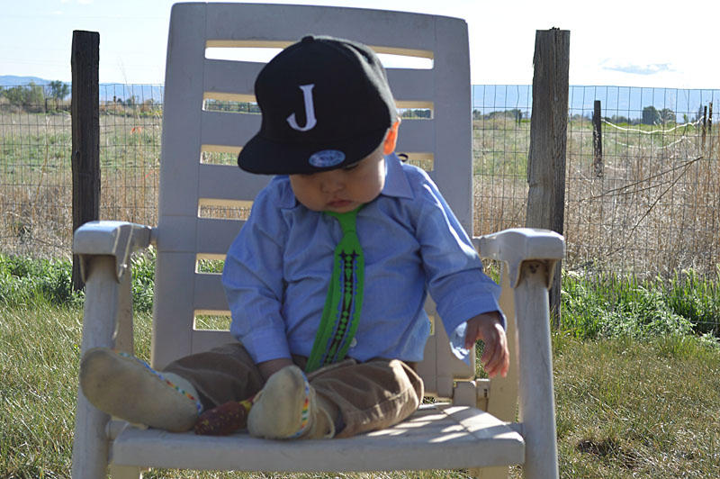 Natalie Swan's two-year-old son Jonathan is an everyday reminder of what she's working for. His Indian name is Nabi-shish, Chippewa Cree for 'Little Man.'
