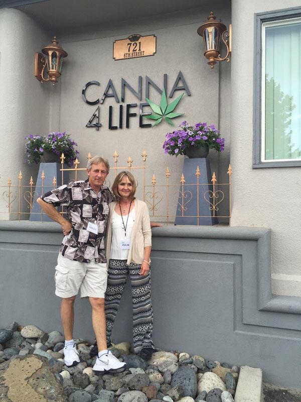 Kelly and Julie Jackson own Canna4Life in Clarkston, Washington.
