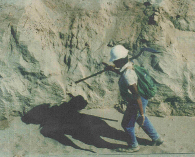 Zelma Maine Jackson in 1982 defining the vadose zone on the Basalt Waste Isolation Project (BWIP).