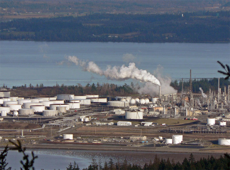 https://commons.wikimedia.org/wiki/File:Anacortes_Refinery_32017.JPG#/media/File:Anacortes_Refinery_32017.JPG