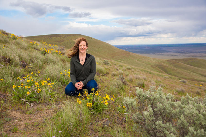 Ellen Prendergast Kennedy has worked at Hanford as a cultural anthropologist and archaeologist for more than a decade. In this position, Kennedy has built a close relationship with Northwest Native American tribes.