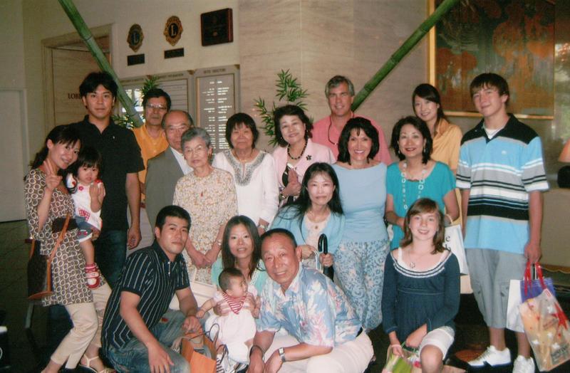 Four generations of the Ozaki Family in Osaka, Japan in 2007.