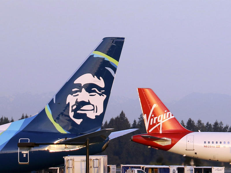 Alaska Air will likely retire the Virgin America brand and repaint their aircraft sometime next year.
