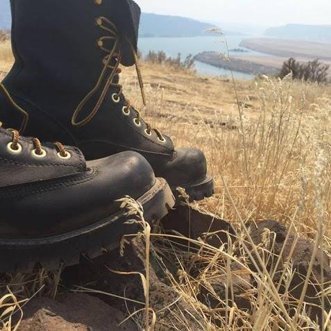 Anna King's specialized boots kept her safe and mobile in the Washington wildfires in 2015.