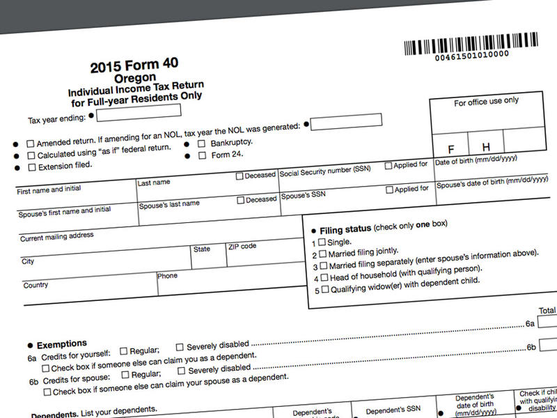 Early Tax Refund Seekers In Oregon Will Have To Wait Until February