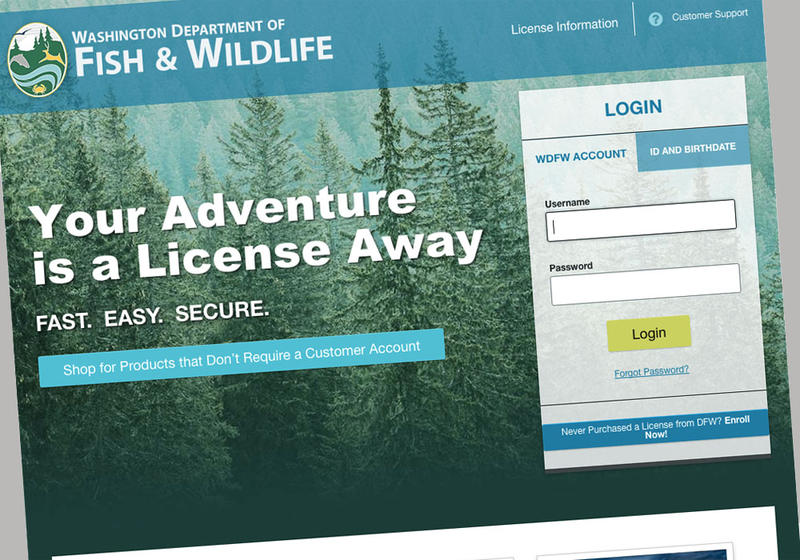 Washington hunters and anglers find more secure but for Oregon fishing license 2017