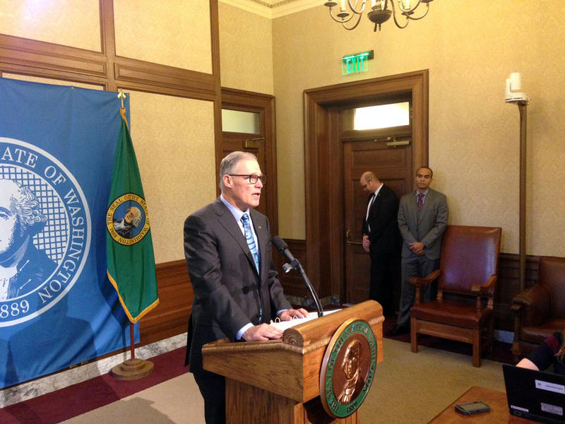 Washington Gov. Jay Inslee says he has ''major concerns'' about President Donald Trump's new executive order on immigration and refugees.