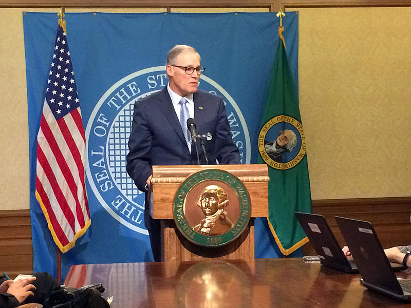 Gov. Jay Inslee told the press Thursday, that a proposed healthcare plan from the federal government would make it more difficult for seniors, cancer survivors and women to find and afford adequate healthcare coverage.