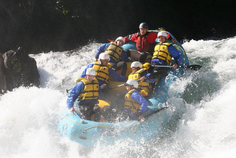 File photo of whitewater rafters on the on the White Salmon River.