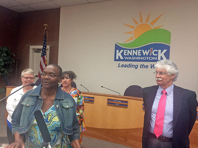 Zelma Jackson leads Kennewick's Diversity Commission. The commission has just released a diversity survey to the public that will be online until mid-June. It's in response to inflammatory comments made online by Kennewick councilman Bob Parks.