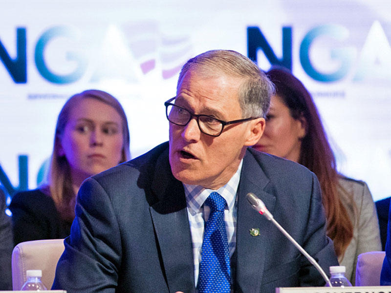 File photo. Washington Gov. Jay Inslee will likely have to call a third special session of the Washington Legislature.
