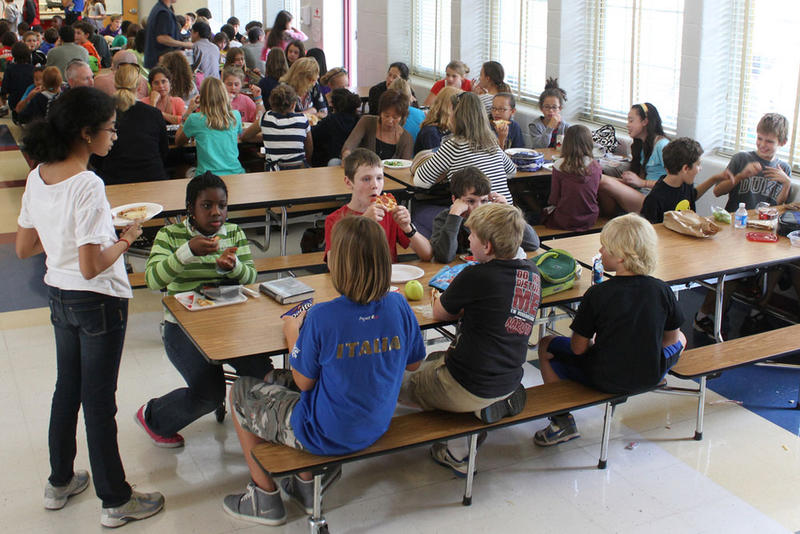 File photo. A bill in the Oregon House aims to prevent so-called ''lunch shamin'' in Oregon Schools.