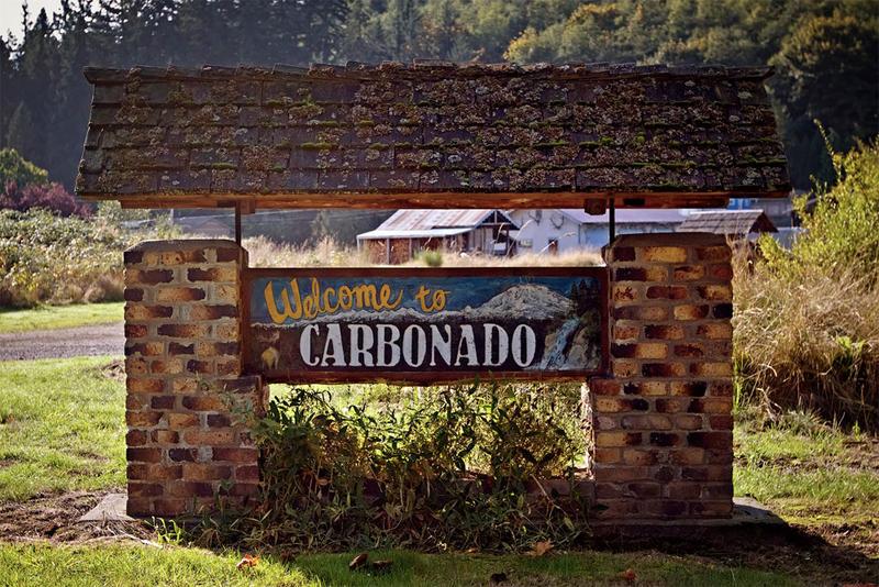 The sewage system in Carbonado, Washington, is leaking.