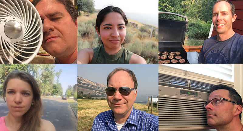 Chris Lehman, Esmy Jimenez, Austin Jenkins, Emily Schwing, Tom Banse and Kevin Mooney check in from the Northwest heat wave.