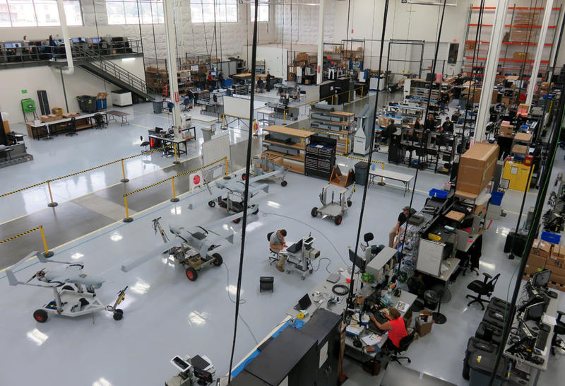 All of Insitu's unmanned aircraft are assembled by hand in this production facility in Bingen, Washington.