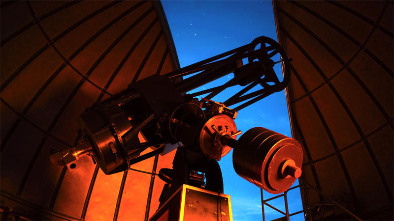 File photo. The Goldendale Observatory boasts one of the largest, public telescopes in the country. It's Classical Cassegrain telescope, shown here, was converted to Newtonian in 2016.