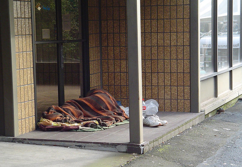 File photo. A new report found Seattle has seen an explosion in the number of people experiencing homelessness since 2007.